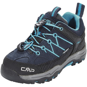 CMP Campagnolo Rigel Low WP Trekking Shoes Kids Asphalt-Cyano